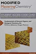 Modified Mastering Chemistry with Pearson eText -- Standalone Access Card -- for Fundamentals of General, Organic, and Biological Chemistry (8th Edition)