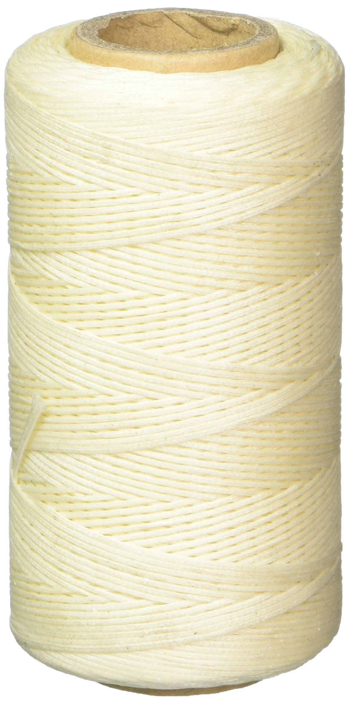 Dark Blue 284Yard 1mm 150D Spool Wax String Cord Sewing Craft Tool Portable for DIY Handicraft Leather Products Beading Hand Stitching Flexzion Flat Waxed Thread