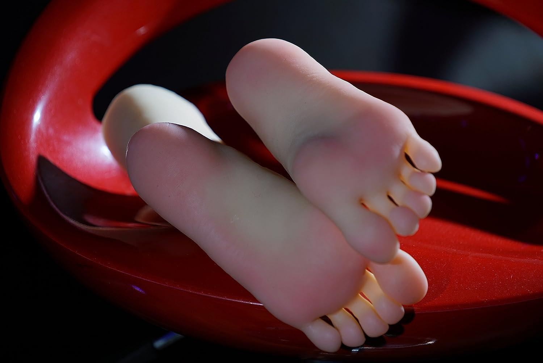 kumiho Schaufensterpuppe weiblich Beine Mannequin f/üsse Deko Socken Schuhe Fu/ßkettchen Pr/äsentation Modell Schmuckst/änder Das Hauptmaterial:TPE 3807-1