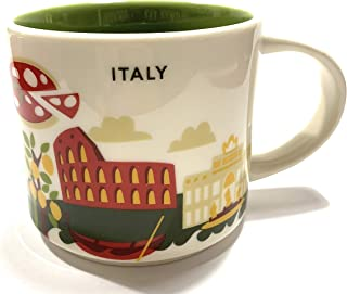 Starbucks Italy You Are Here YAH Coffee Mug
