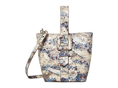 Brahmin Melbourne Faith Shoulder Bag (Stratus) Shoulder Handbags