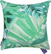 Aitliving Accent Pillow Case Painted Cotton Print Canvas Ocean Tropical Palm Tree Banana Leaf Decorative Cushion Pillow Cover 18X18 46X46cm