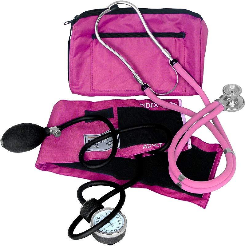 Dixie Ems Blood Pressure And Sprague Stethoscope Kit PNK