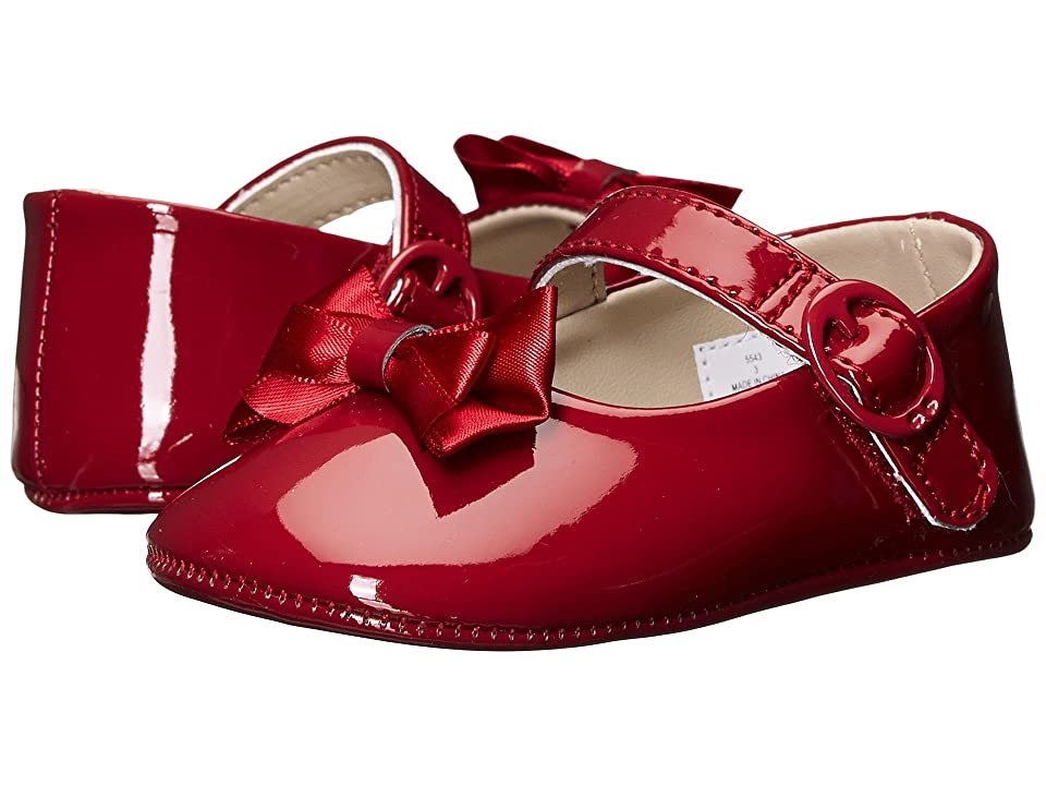 Baby Deer Skimmer Mary Jane (Infant) (Red Patent) Girls Shoes