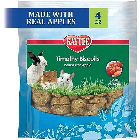 Kaytee Timothy Biscuits Baked Treat, Apple, 4 oz