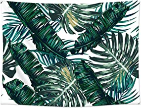 Sunm Boutique Tapestry Wall Hanging Palm Tree Leaves Tapestry Vintage Tapestry Wall..