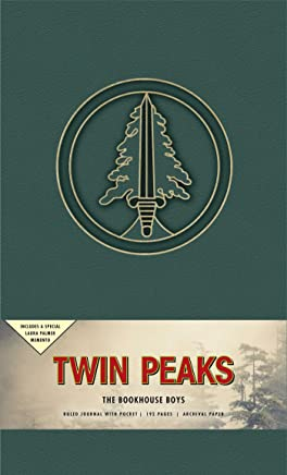 Twin Peaks the Bookhouse Boys Hardcover Ruled Journal: Includes a Special Laura Palmer Memento