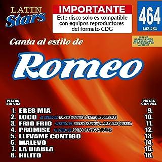 Karaoke Latin Stars 464 Romeo