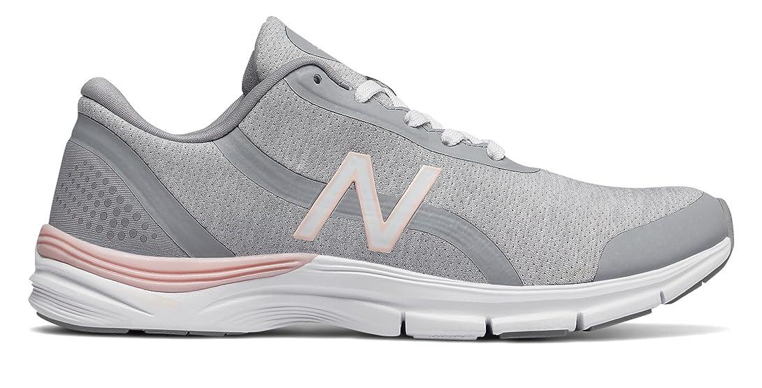 緊急葉を拾う投資する(ニューバランス) New Balance 靴?シューズ レディーストレーニング 711v3 Mesh Trainer White with Sunrise Glo ホワイト グロー US 11 (28cm)