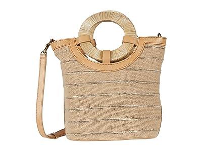 Lucky Brand Ason Bucket (Natural) Handbags