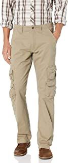 Authentics Men's Premium Relaxed Fit Straight Leg Cargo Pant
