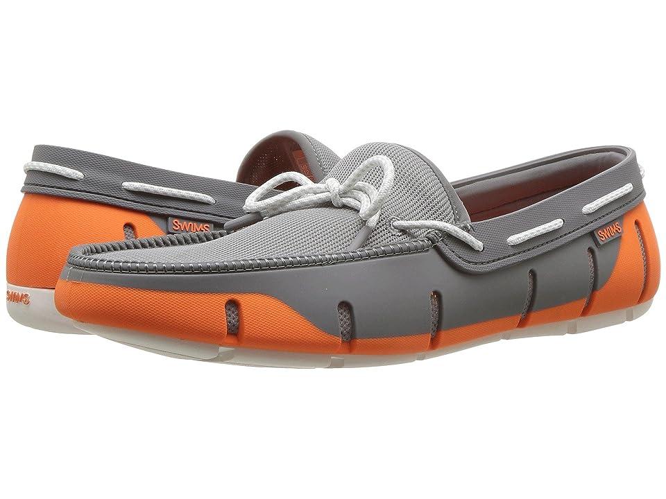 SWIMS Stride Lace Loafer (Orange/Gray/White Fleck) Men