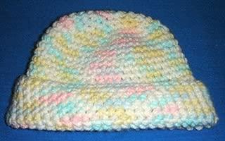 candy corn beanie crochet pattern