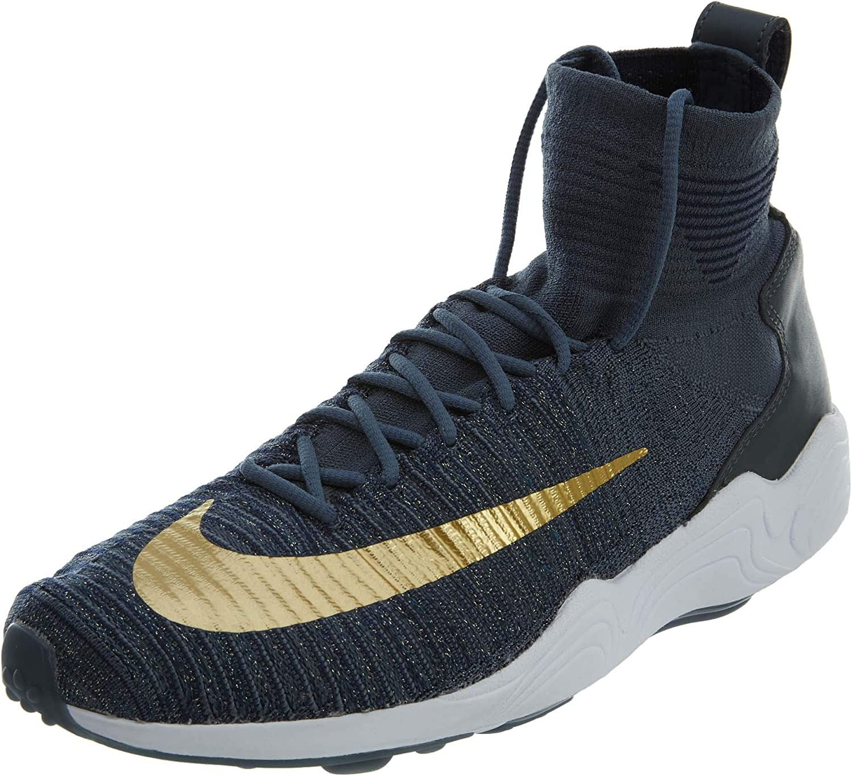 Nike herrar Zoom Mercurial XI XI XI FK FC blå  guld 852616 -400  erbjudanden försäljning