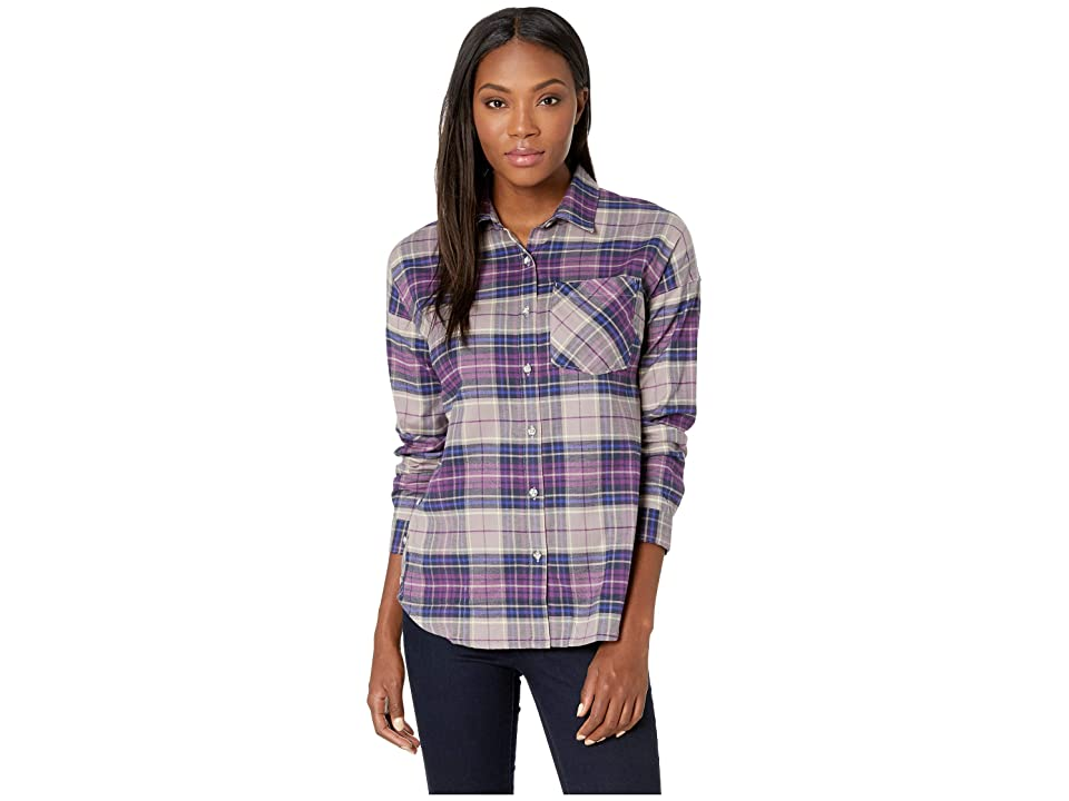 Mountain Hardwear Karseetm Long Sleeve Shirt (Cosmos Purple) Women