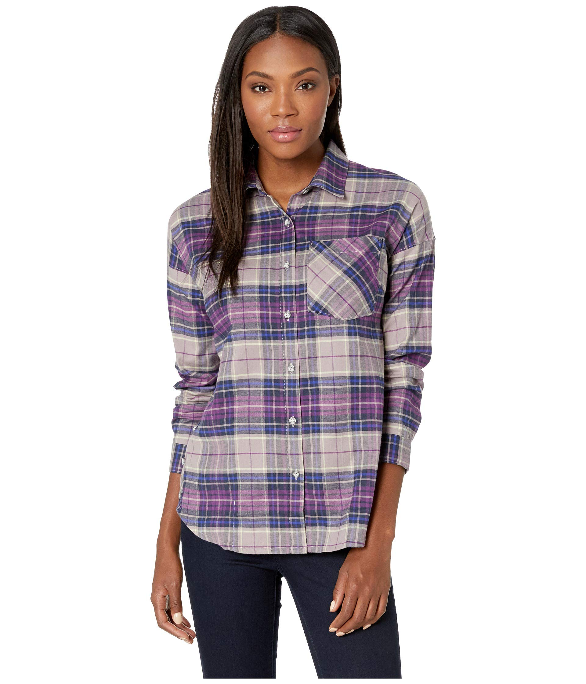 Shirt Karsee™ Hardwear Mountain Sleeve Purple Long Cosmos WBpW70qH
