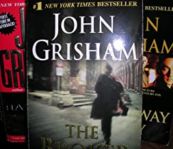 Author John Grisham Seven Bundle Book Set Includes: The Chamber- The Rainmaker - The Broker - The Summons - The Street Law...