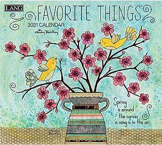 Lang Favorite Things 2021 Wall Calendar (21991001857)