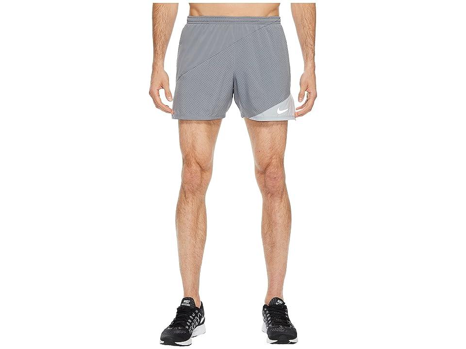 Nike Distance 5 Running Short (Cool Grey/Wolf Grey) Men