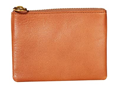Madewell Leather Pouch Wallet (English Saddle) Handbags