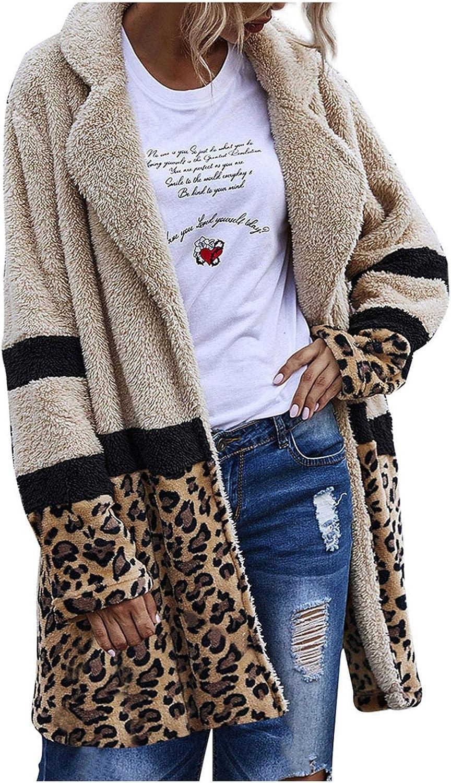Womens Winter OFFer Jacket Coat Warm Artificial Plush Colla latest Lapel Wool