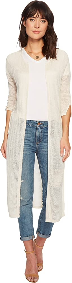 Lightweight Duster Cardigan Sweater