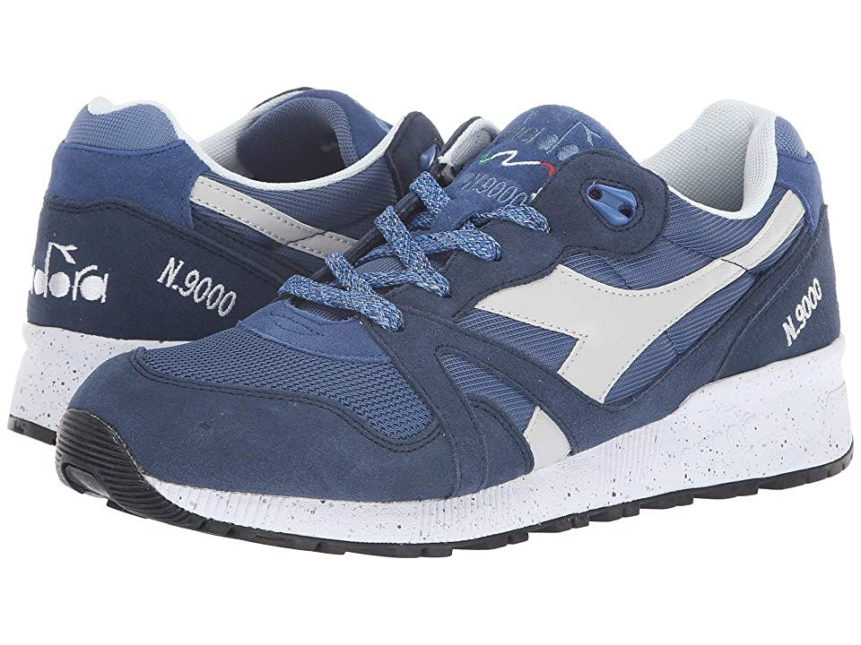 Diadora N9000 Speckled (True Navy/Insignia Blue) Athletic Shoes