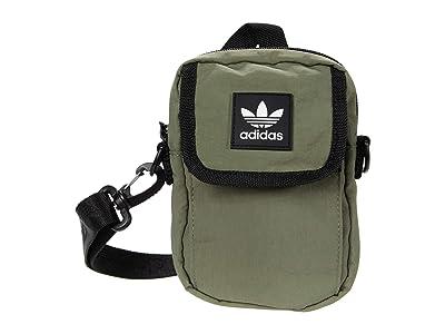 adidas Originals Originals National Festival Crossbody (Legacy Green) Handbags