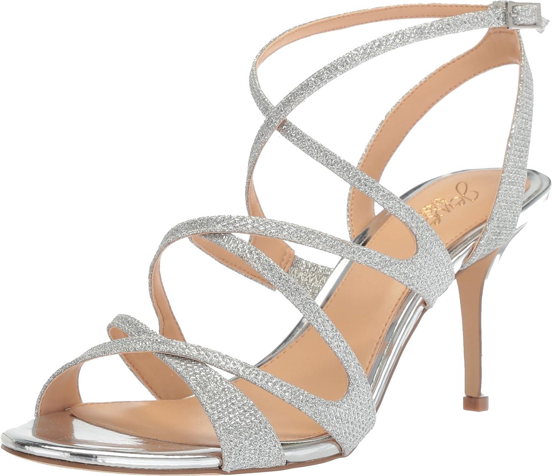 Badgley Mischka Womens Tasha Heeled Sandal
