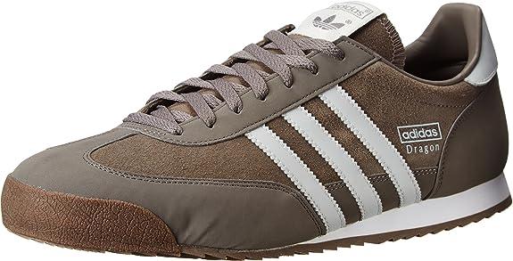 adidas Mens Dragon Grey White G63395 14 | Shoes - Amazon.com