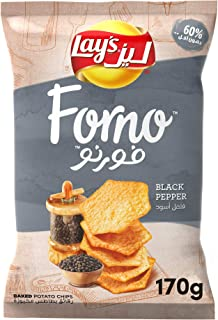 Lay's Forno Black Pepper 170gm
