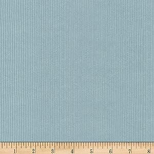 Robert Kaufman Kaufman Corduroy 8 Wale Solid Rain Fabric