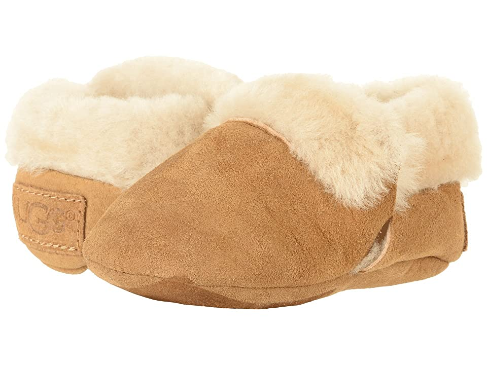UGG Kids Solvi (Infant/Toddler) (Chestnut) Girl