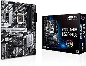 ASUS Prime H570-PLUS LGA1200 (Intel 11th/10th Gen) ATX Motherboard (PCIe 4.0, 8 Power Stages, HDMI, DVI, DisplayPort, Dual...