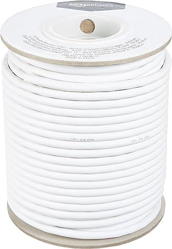 Amazon Basics 12-Gauge Audio Speaker Wire Cable - 99.9% Oxygen Free Copper, 200-Foot