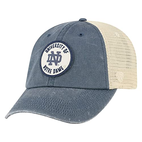 49e725be66f6b Top of the World Notre Dame Fighting Irish Official NCAA Adjustable  Keepsake Soft Mesh Cotton Hat