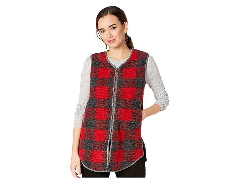 Woolrich Chilly Days Long Vest (Red Heather) Women