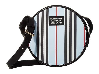 Burberry Kids Tambourine Stripe (Pale Blue) Handbags