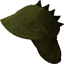 San Diego Hat Company Kids - Dino Flap Cap (Toddler/Little Kids)