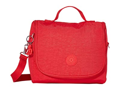 Kipling Kichirou Lunch Bag (Red Rouge) Cross Body Handbags