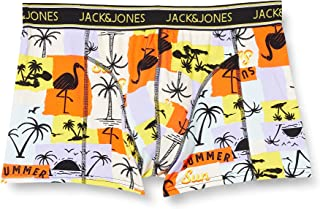Jack & Jones Men's Jacsummer Paper Trunks STS Boxer Shorts