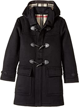 Burberry Kids Core Wool Duffle (Little Kids/Big Kids)