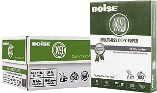 Boise X-9 Multi-Use Copy Paper, 8.5