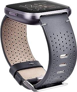CAGOS متوافق مع Fitbit Versa 2/Versa/Versa Lite للرجال والنساء، سوار بديل للساعة الذكية فيتبيت فيرسا (رمادي)