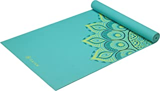Gaiam Yoga Mat - Premium 6mm Print Extra Thick Exercise & Fitness Mat for All Types of Yoga, Pilates & Floor Exercises (68