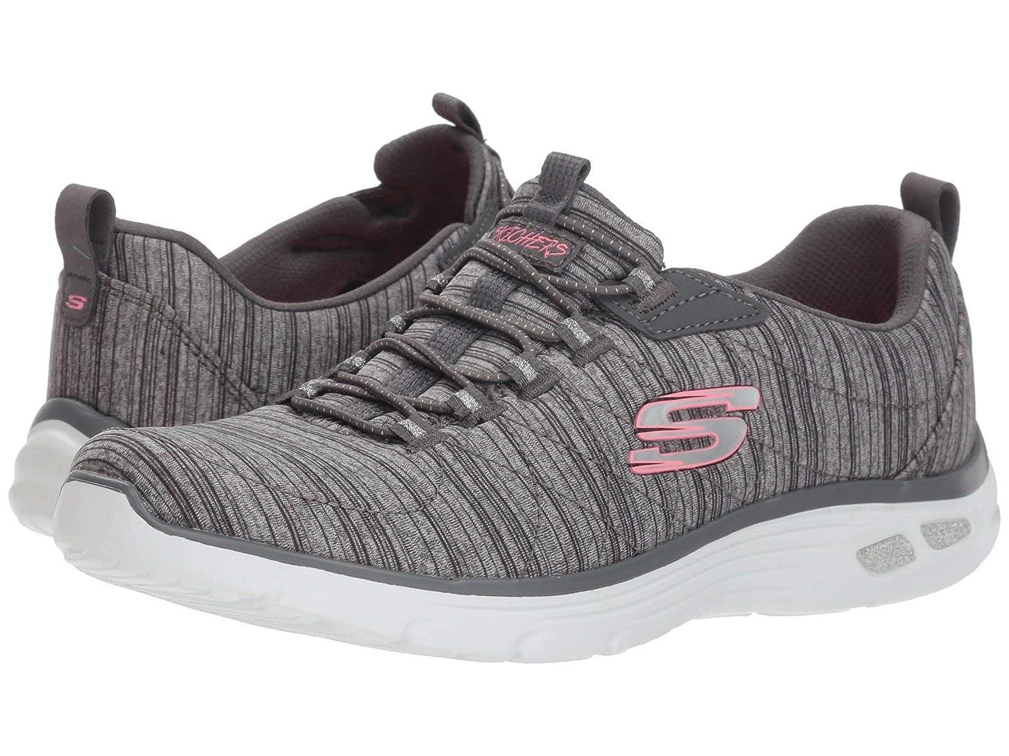 杖一族バットレディーススニーカー?ウォーキングシューズ?靴 Empire D'Lux Gray 7 (24cm) B [並行輸入品]