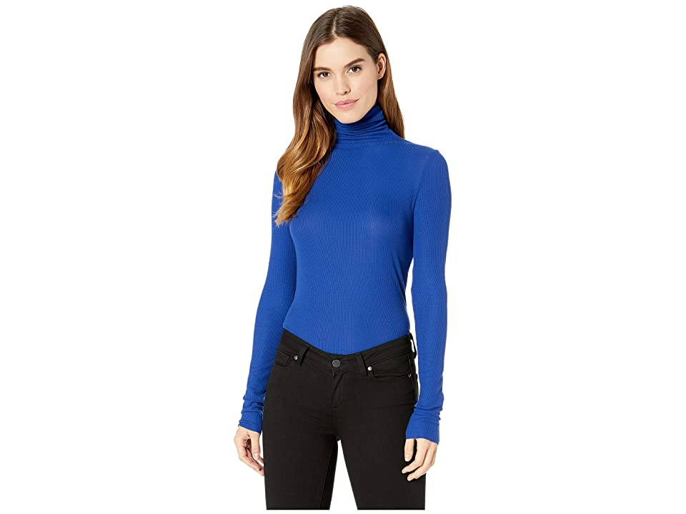 Image of AG Adriano Goldschmied Chels Turtleneck (Egyptian Blue) Women's Clothing