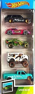 Hot Wheels Speed Blur 5 Pack