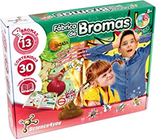 Science4You-5.60098E+12 Fábrica de Bromas para Niños +8 A