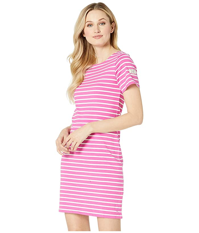 Joules Riviera (Pink Cream Stripe) Women